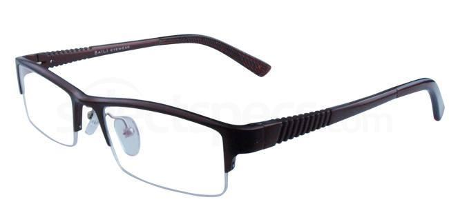 Brown B090 Aluminium Glasses, Infinity