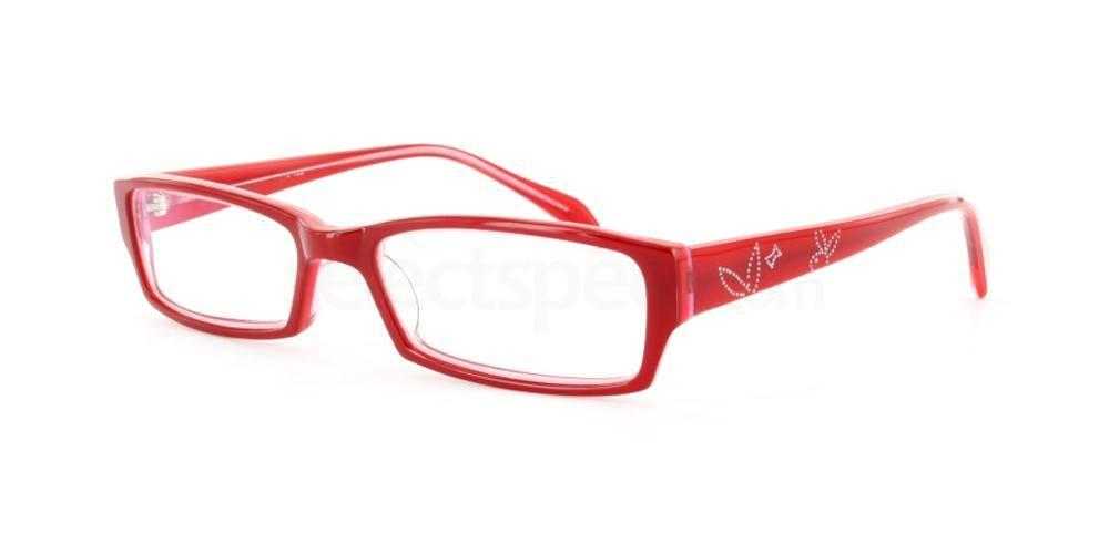 Red 1096 Glasses, Infinity