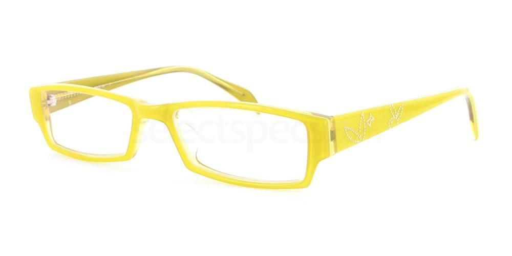 Yellow 1096 Glasses, Infinity
