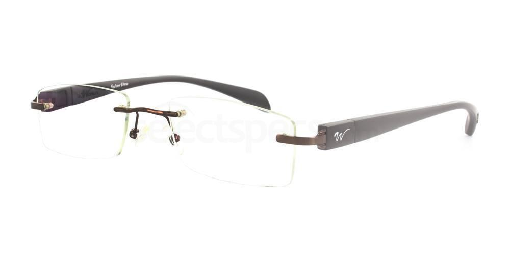 Brown 1289 Glasses, Infinity