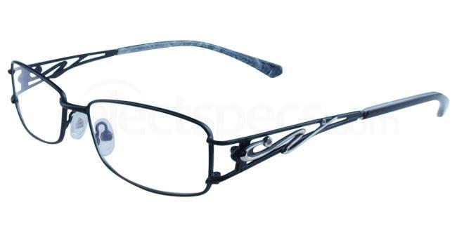 Black 7660 Glasses, Infinity