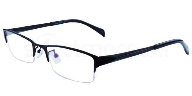 Black S3092 Glasses, Infinity