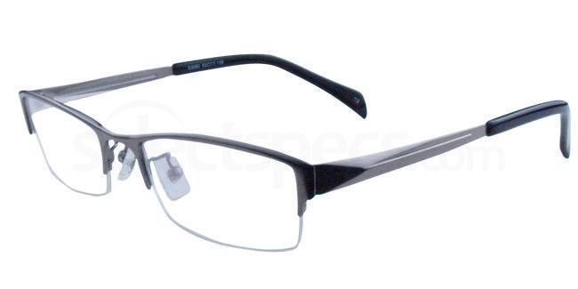 Gunmetal S3092 Glasses, Infinity
