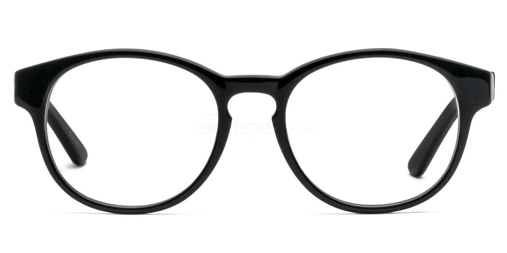 black unisex glasses cheap