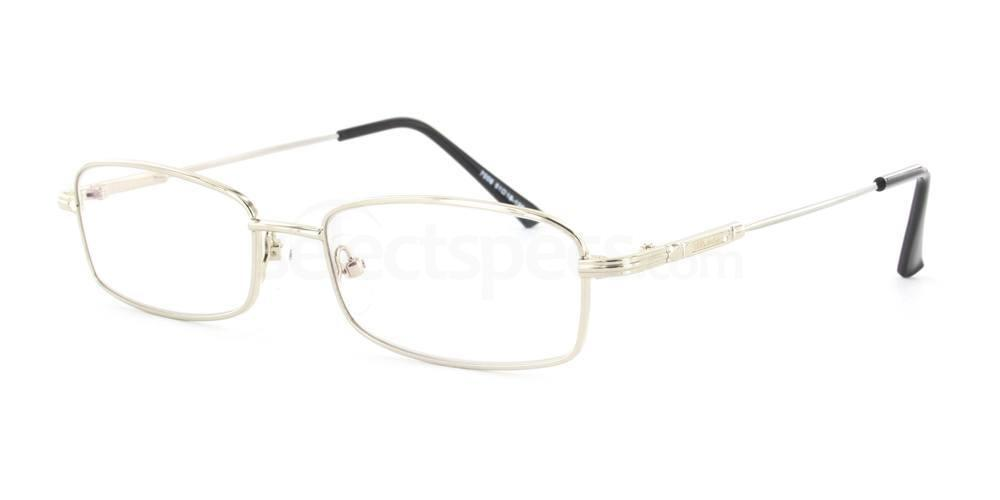 Silver 7006 Glasses, Infinity