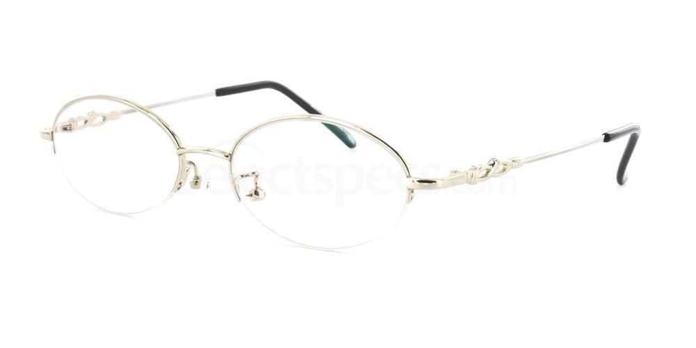 Silver 8011 Glasses, SelectSpecs