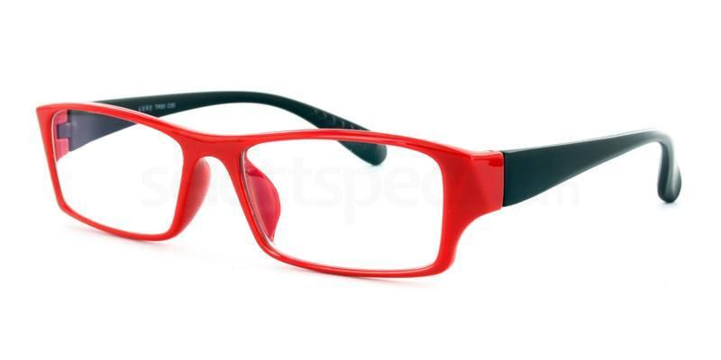 Black/Red R33063 Glasses, Infinity