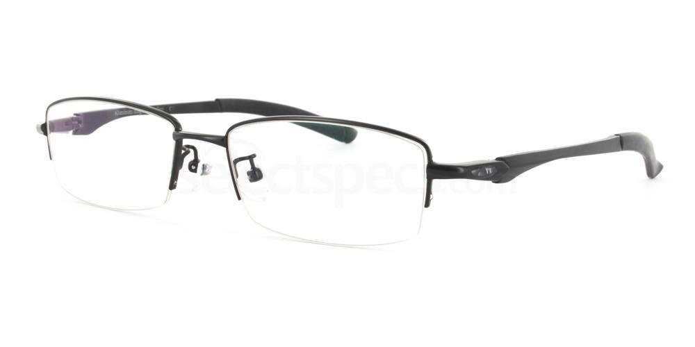 Black L55004 Glasses, Infinity