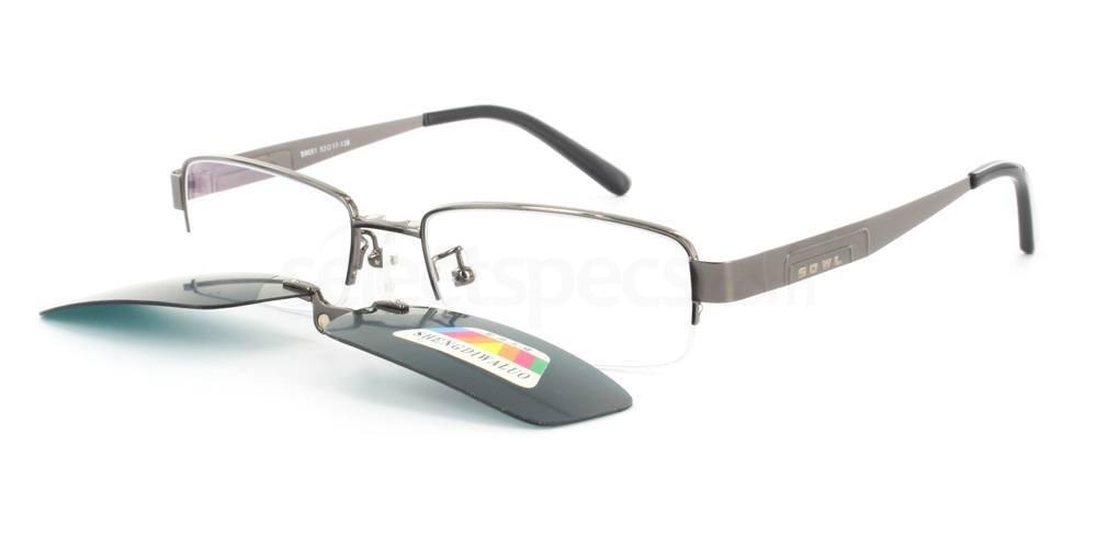 Gunmetal S9051 Glasses, Infinity