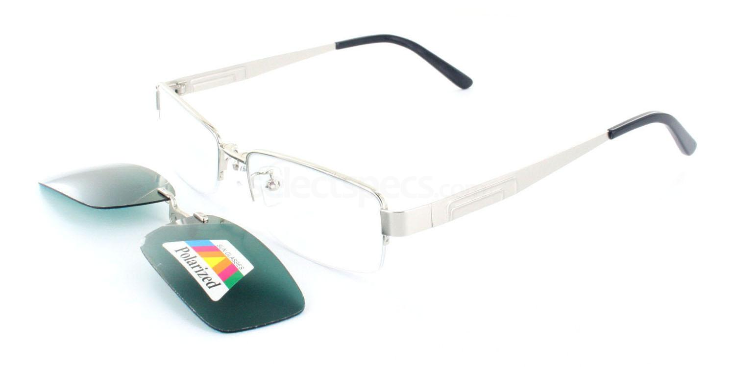 Silver S9051 Glasses, Infinity