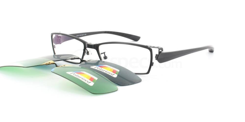 Black L8105 Glasses, Infinity