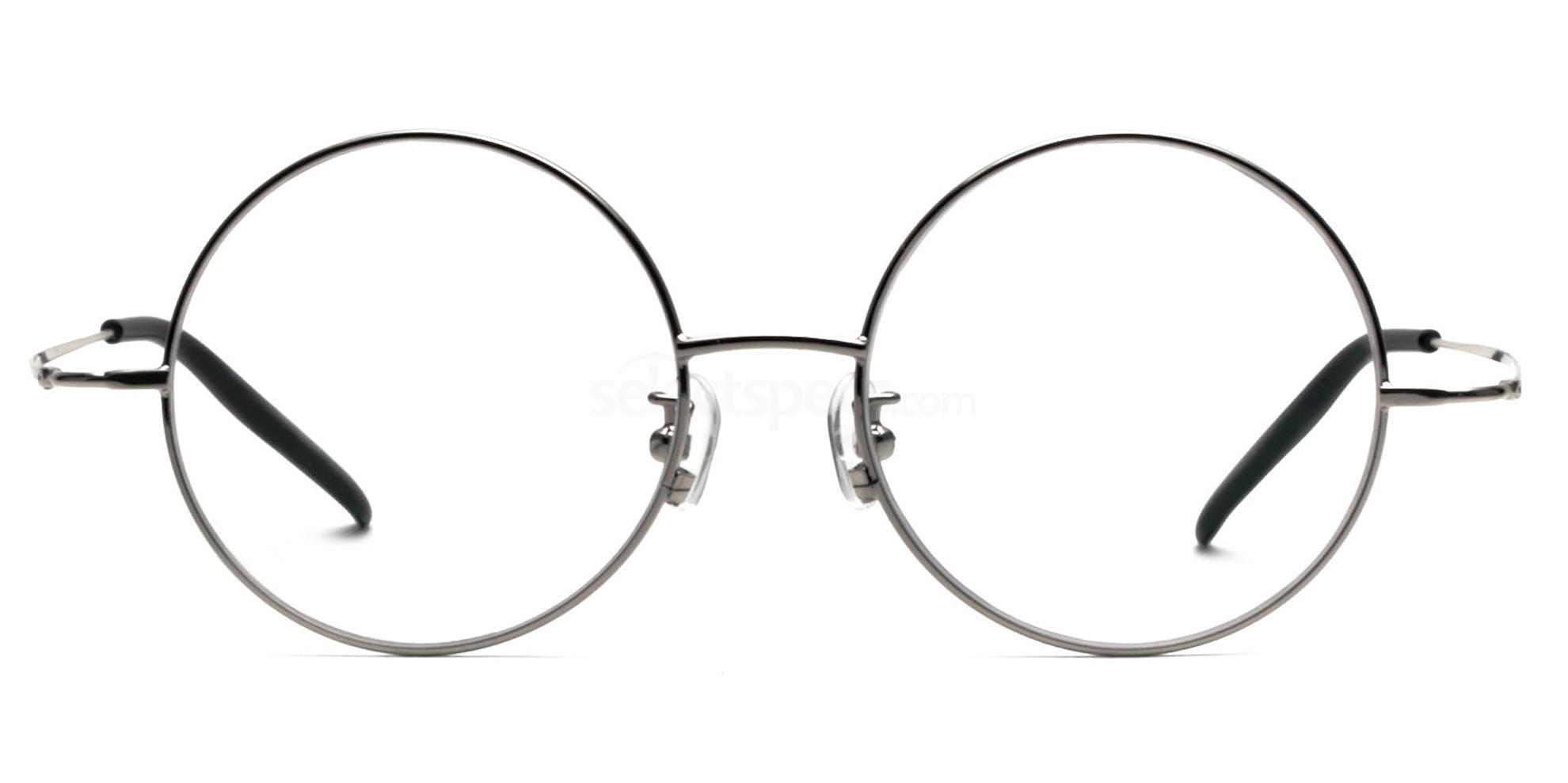 Infinity-silver-metal-round-glasses