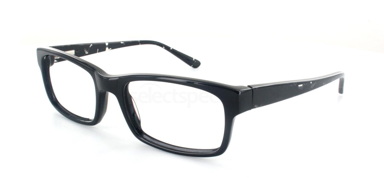 Black Crystal A6691 Glasses, SelectSpecs