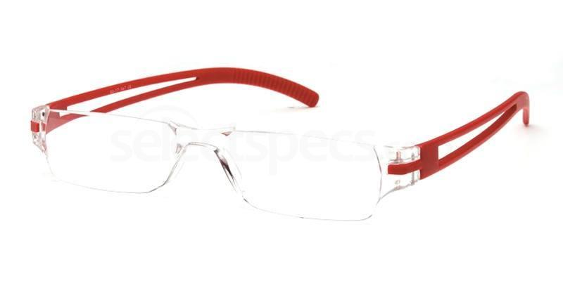 +1.00 Power Readers R05C - C: Red Accessories, Univo Readers
