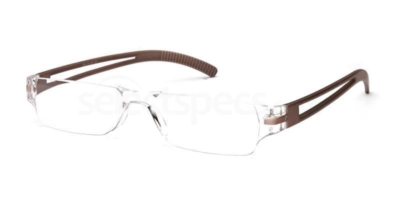 +1.00 Power Readers R05D - D: Silver Accessories, Univo Readers