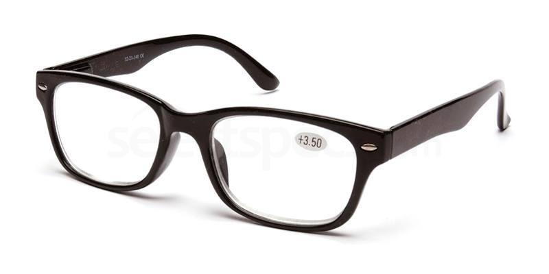 +1.00 Power Readers R11A - A: Black Accessories, Univo Readers
