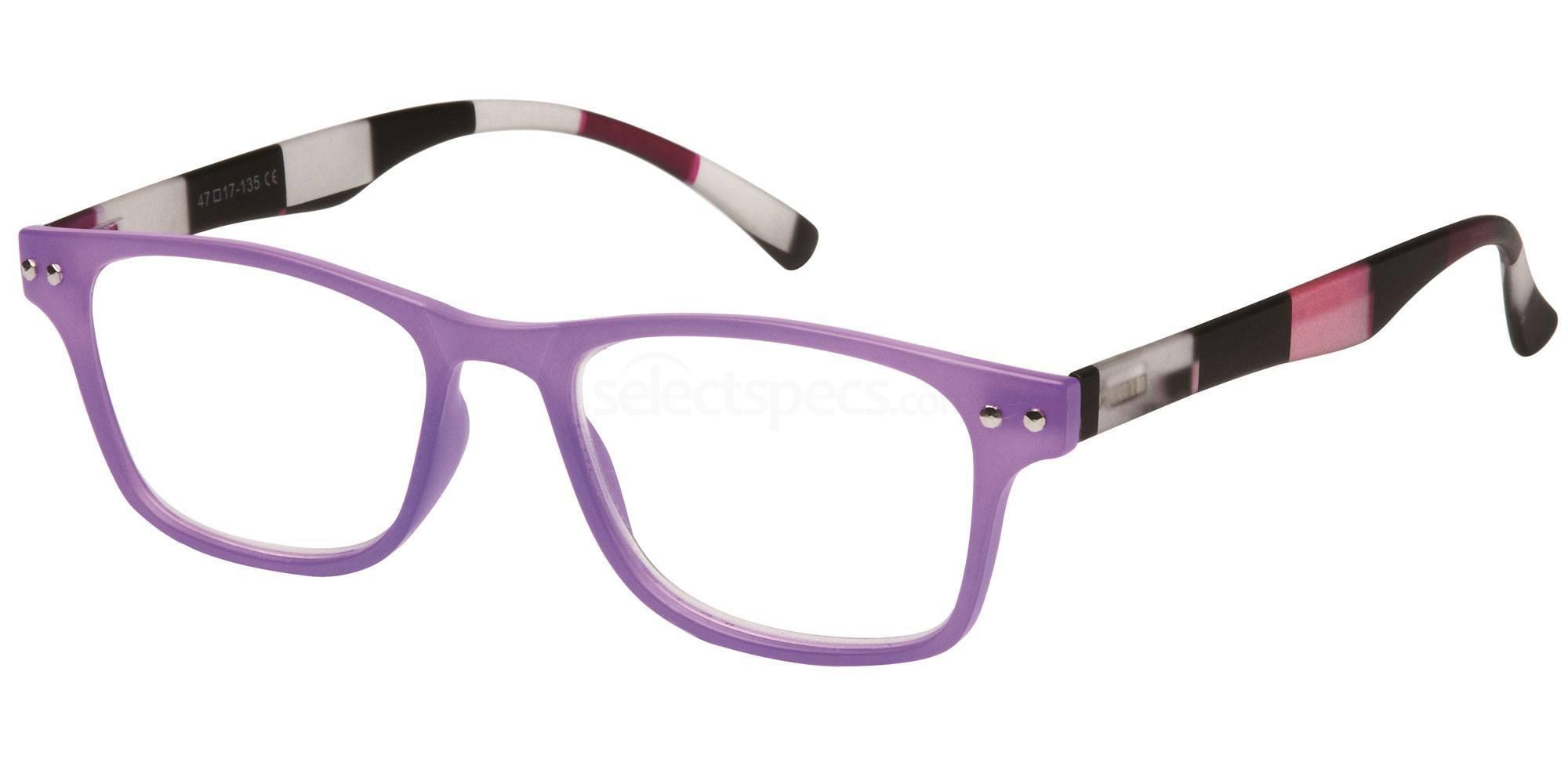 +1.00 Power Readers R15D - D: Lilac Accessories, Univo Readers