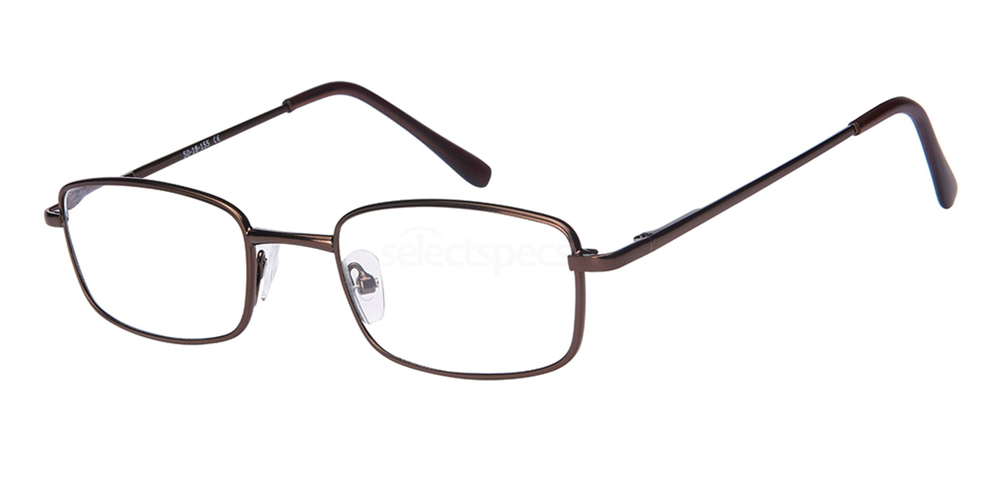 +3.00 Power Readers R21A - A: Brown Accessories, Univo Readers