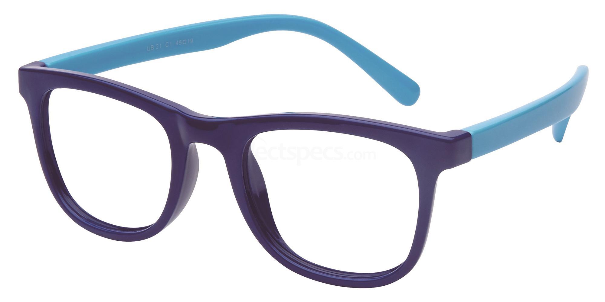 C1 UB21 Glasses, Univo Base