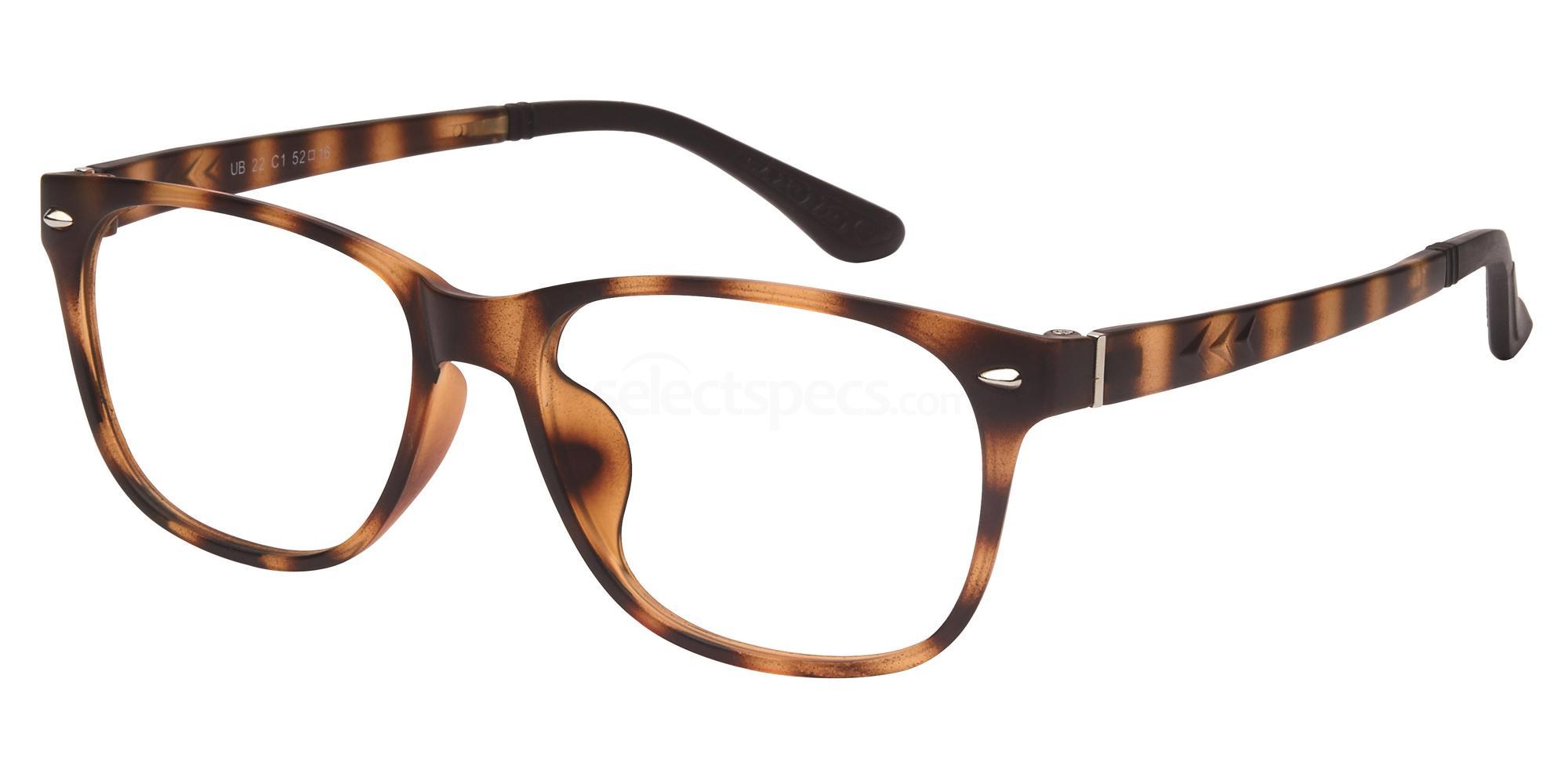 C1 UB22 Glasses, Univo Base