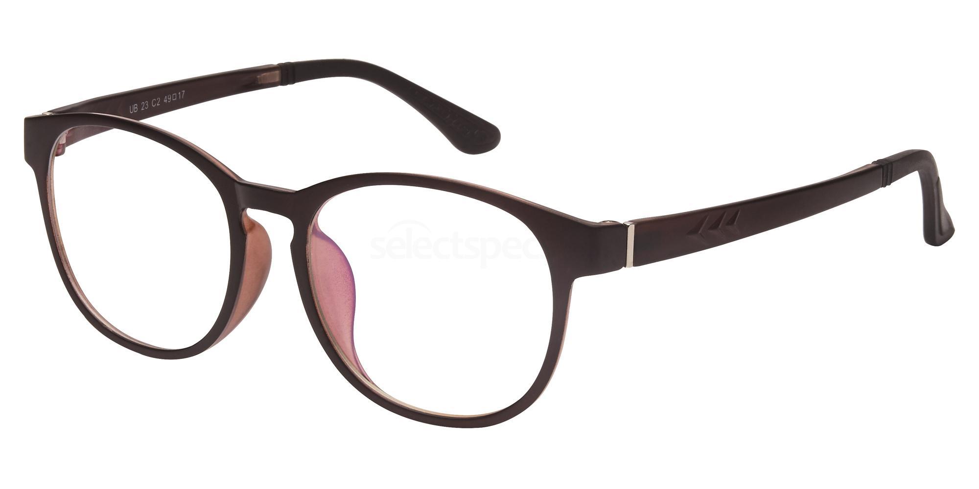 C2 UB23 Glasses, Univo Base