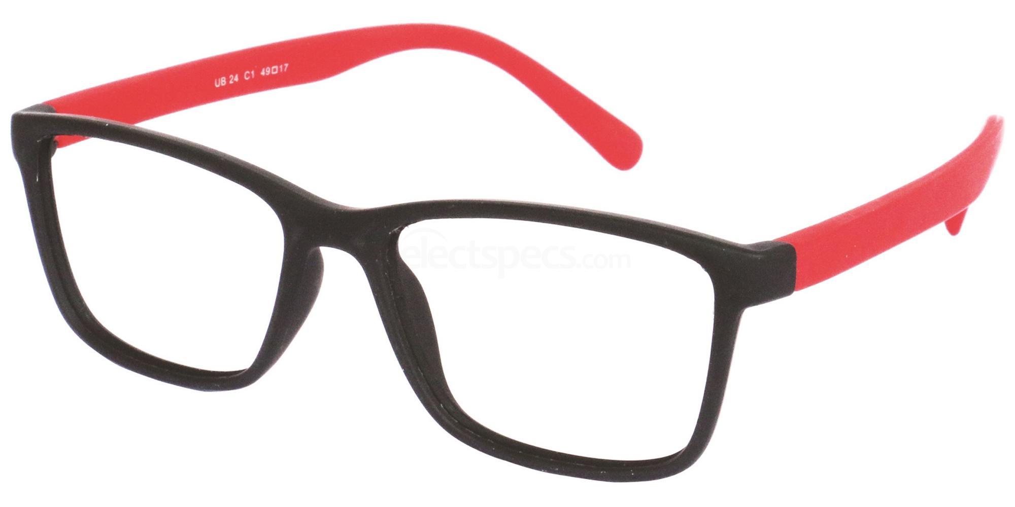 C1 UB24 Glasses, Univo Base