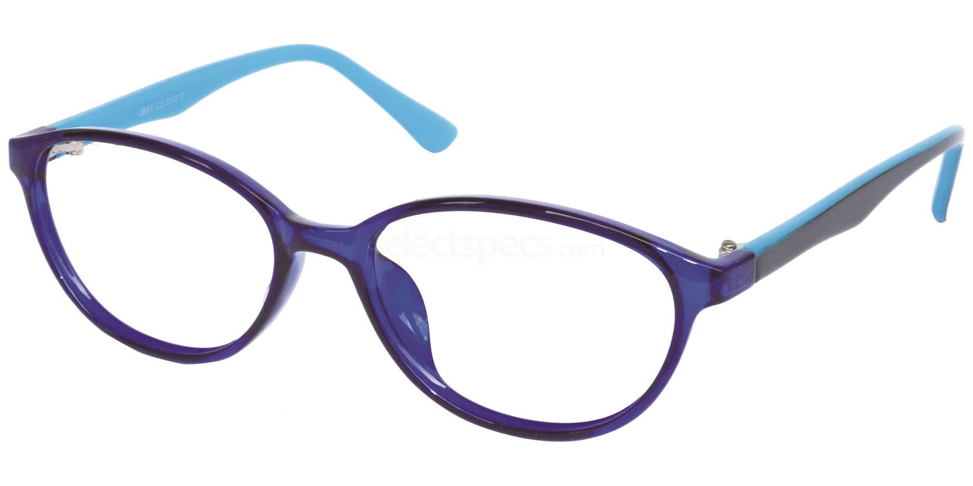 C2 UB87 Glasses, Univo Base