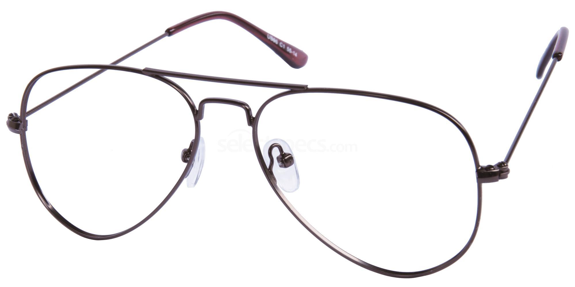C1 UB96 Glasses, Univo Base
