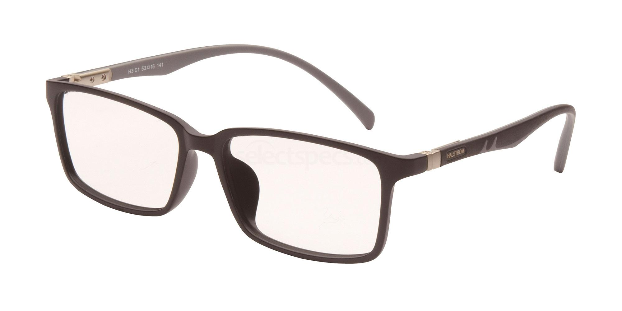 C1 H3 Glasses, Halstrom