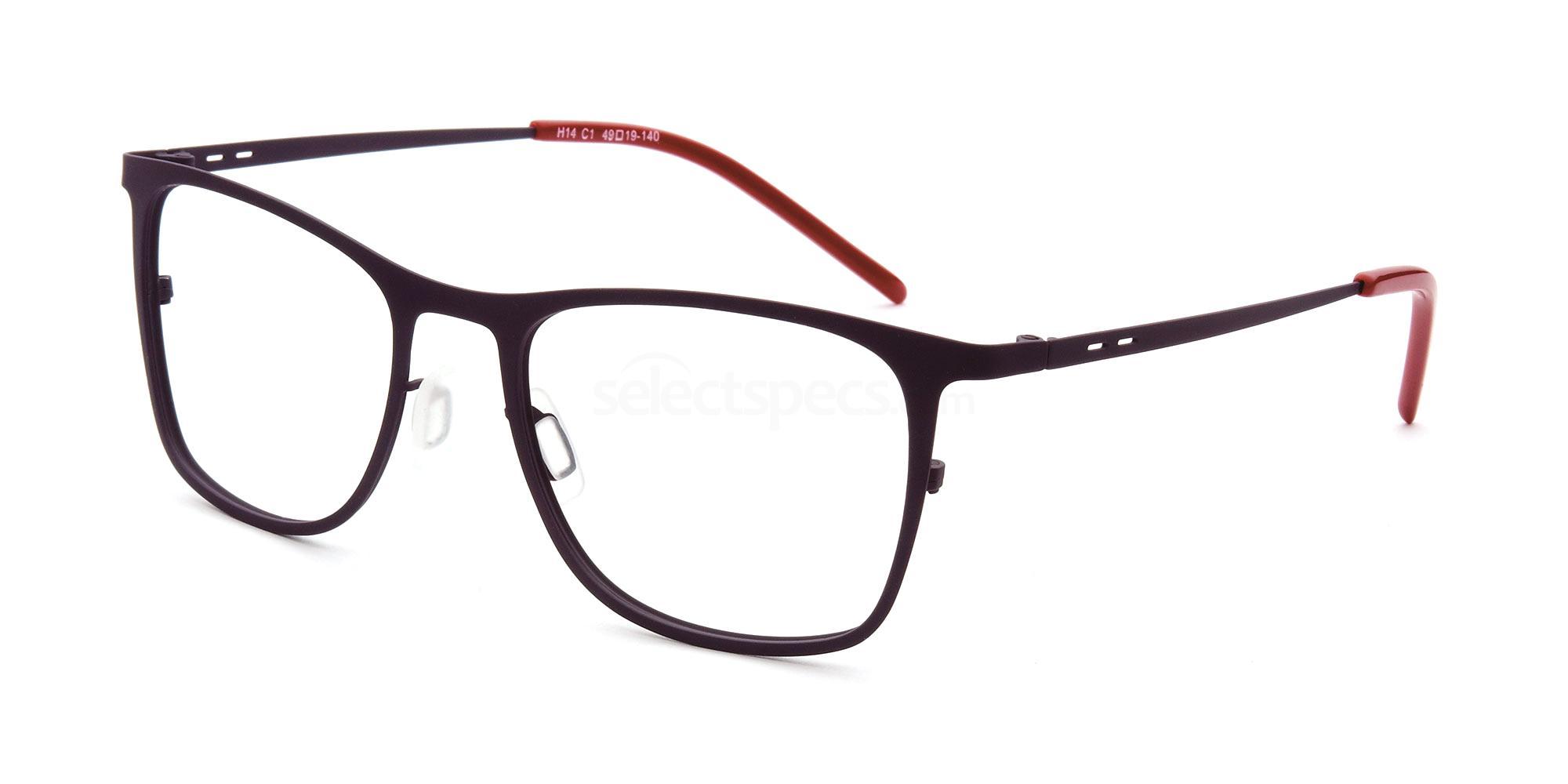 C1 H14 Glasses, Halstrom