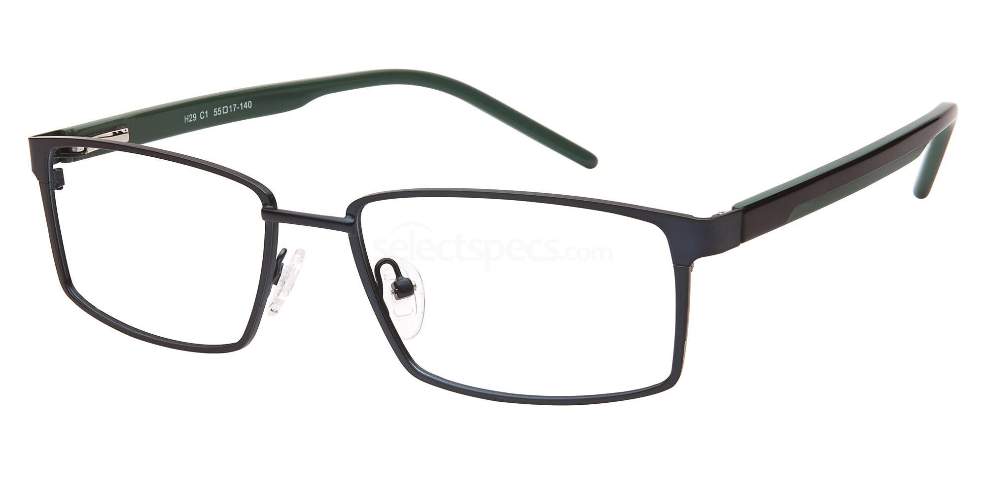 C1 H29 Glasses, Halstrom