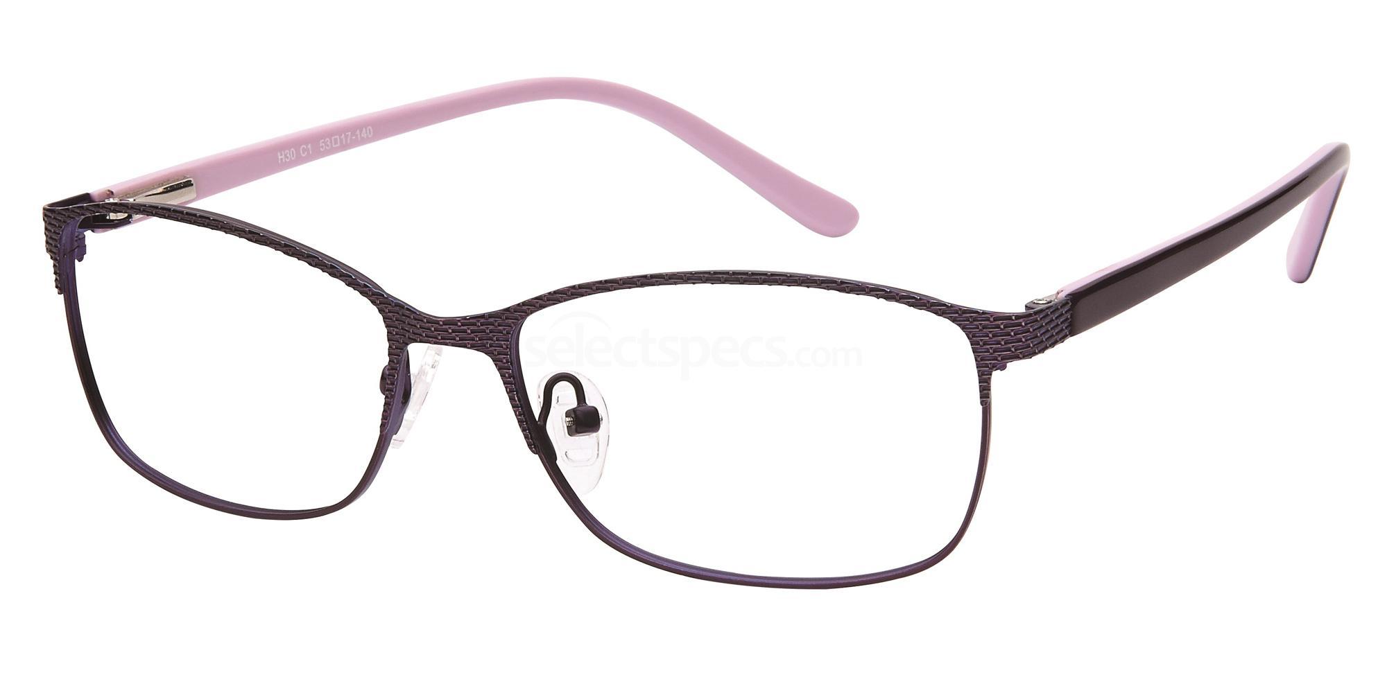 C1 H30 Glasses, Halstrom