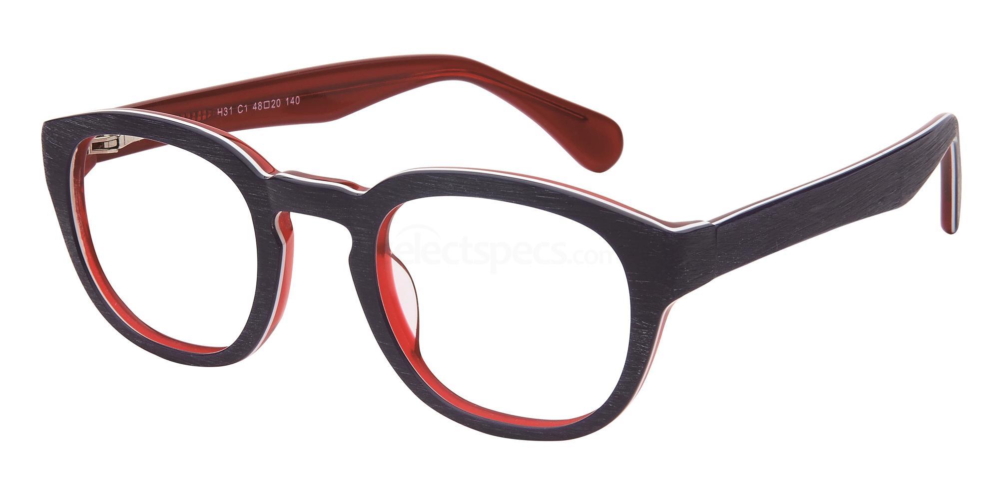 C1 H31 Glasses, Halstrom