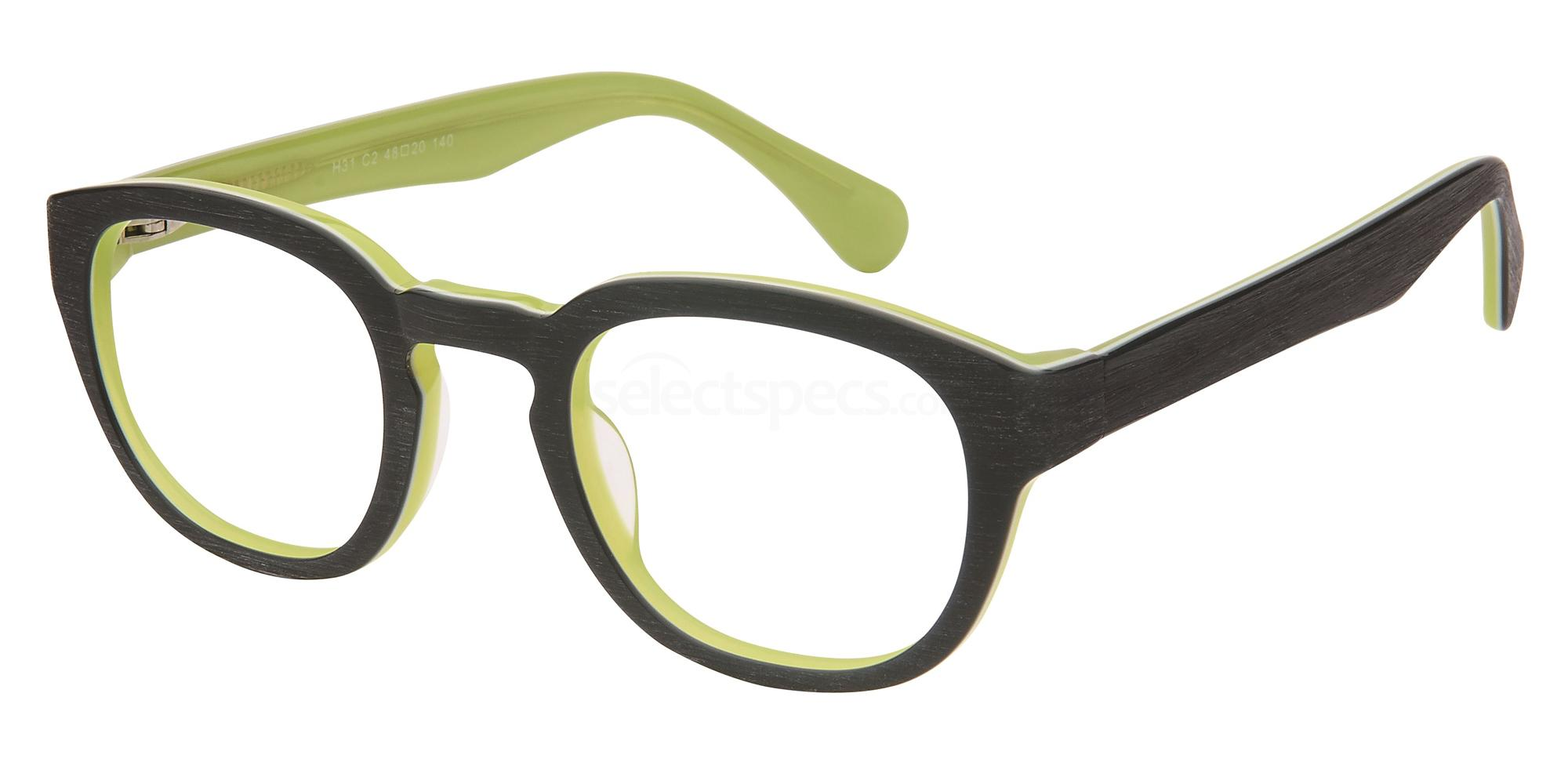 C2 H31 Glasses, Halstrom