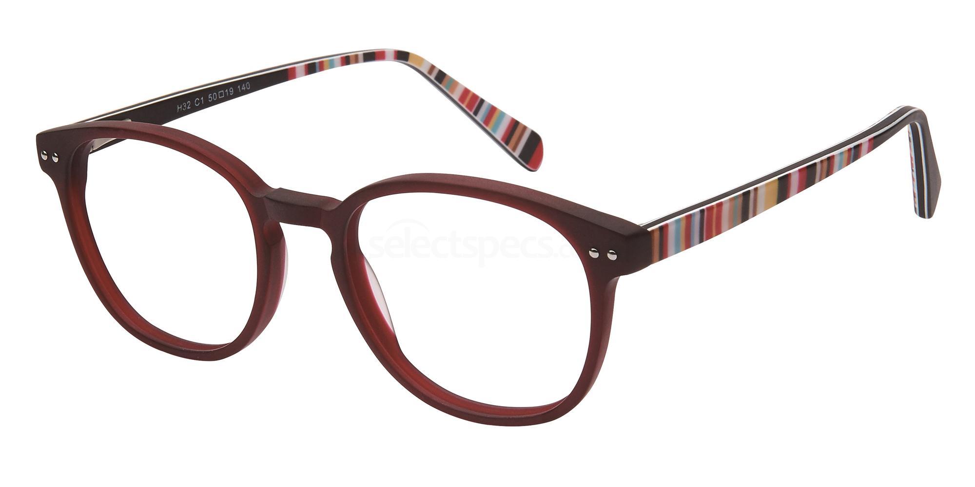 C1 H32 Glasses, Halstrom