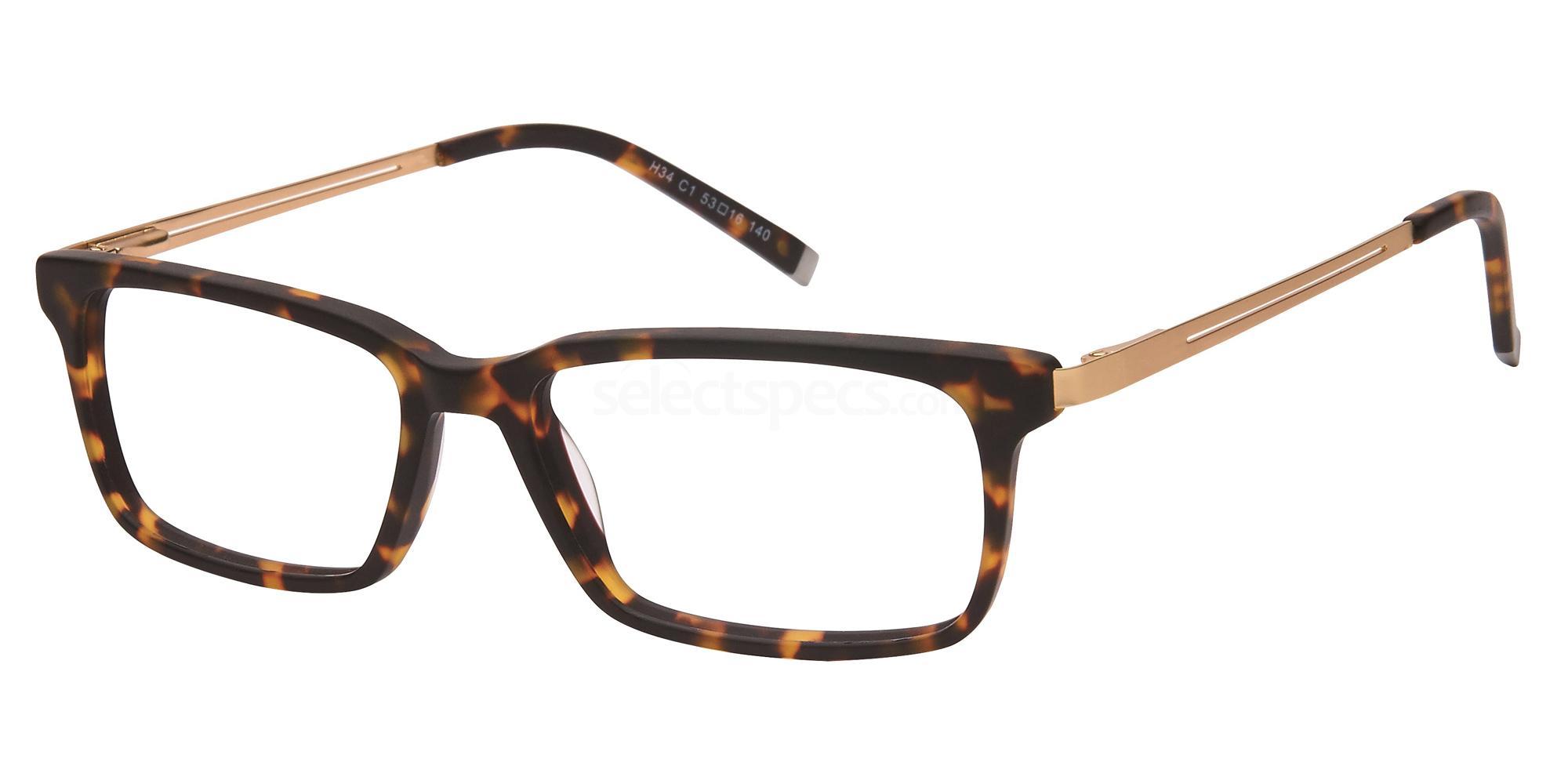 C1 H34 Glasses, Halstrom
