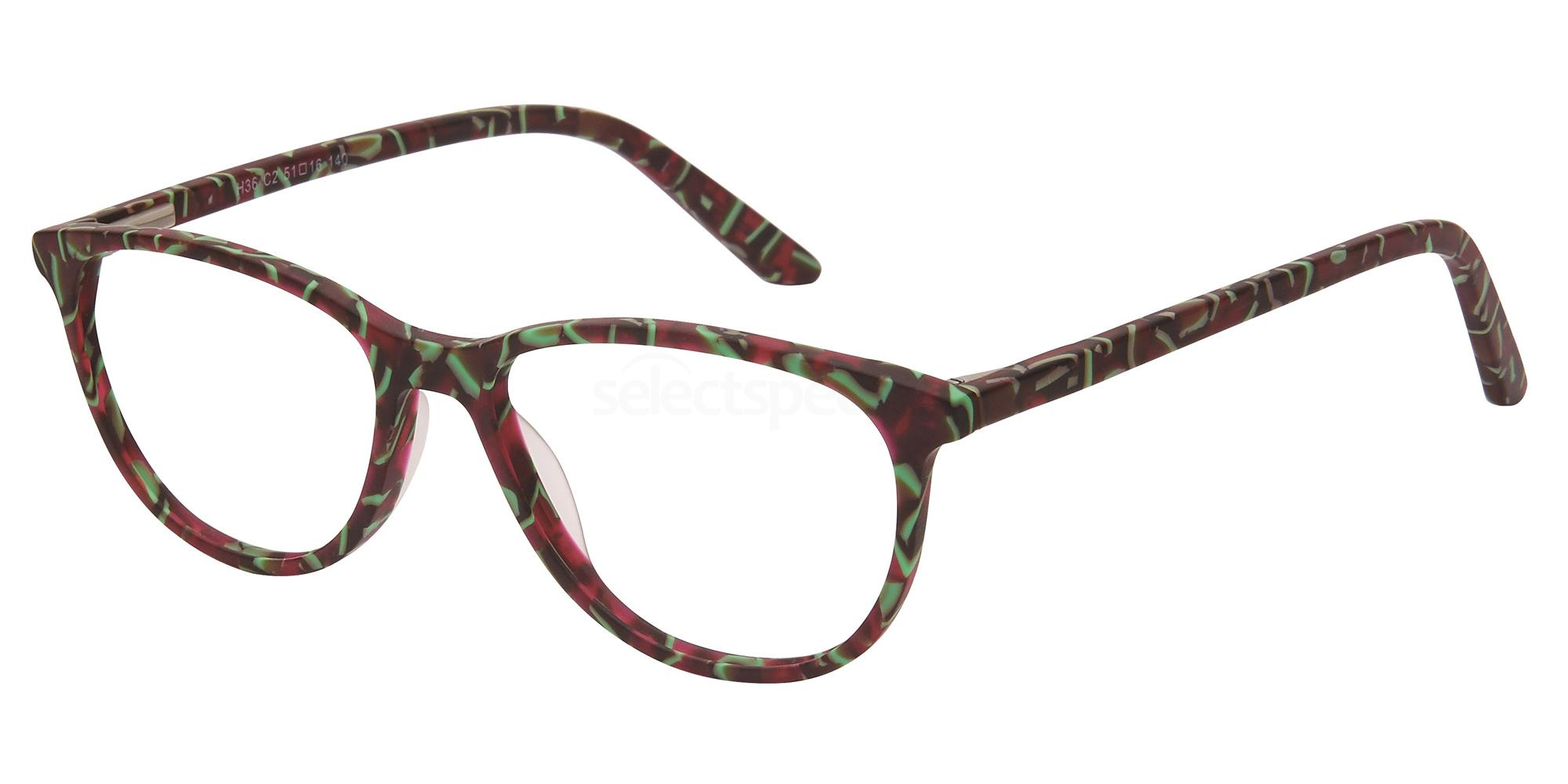 C2 H36 Glasses, Halstrom