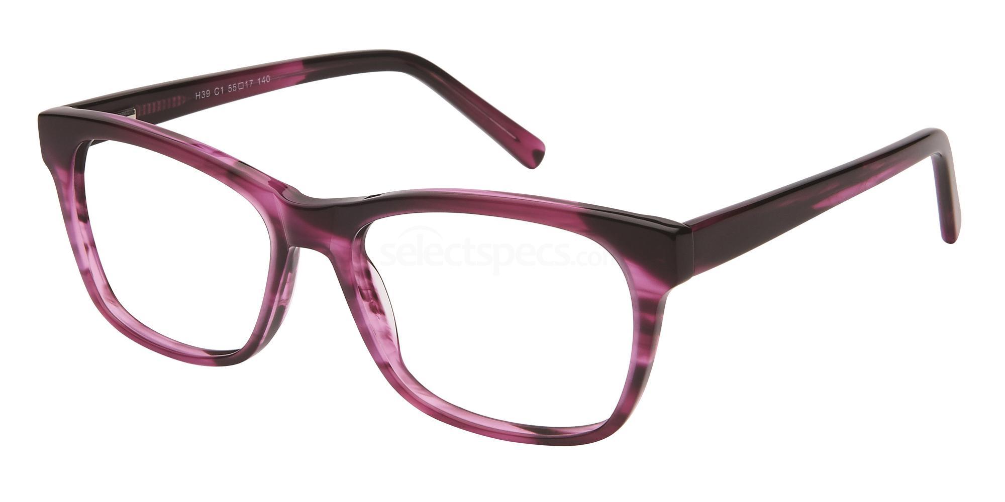 C1 H39 Glasses, Halstrom