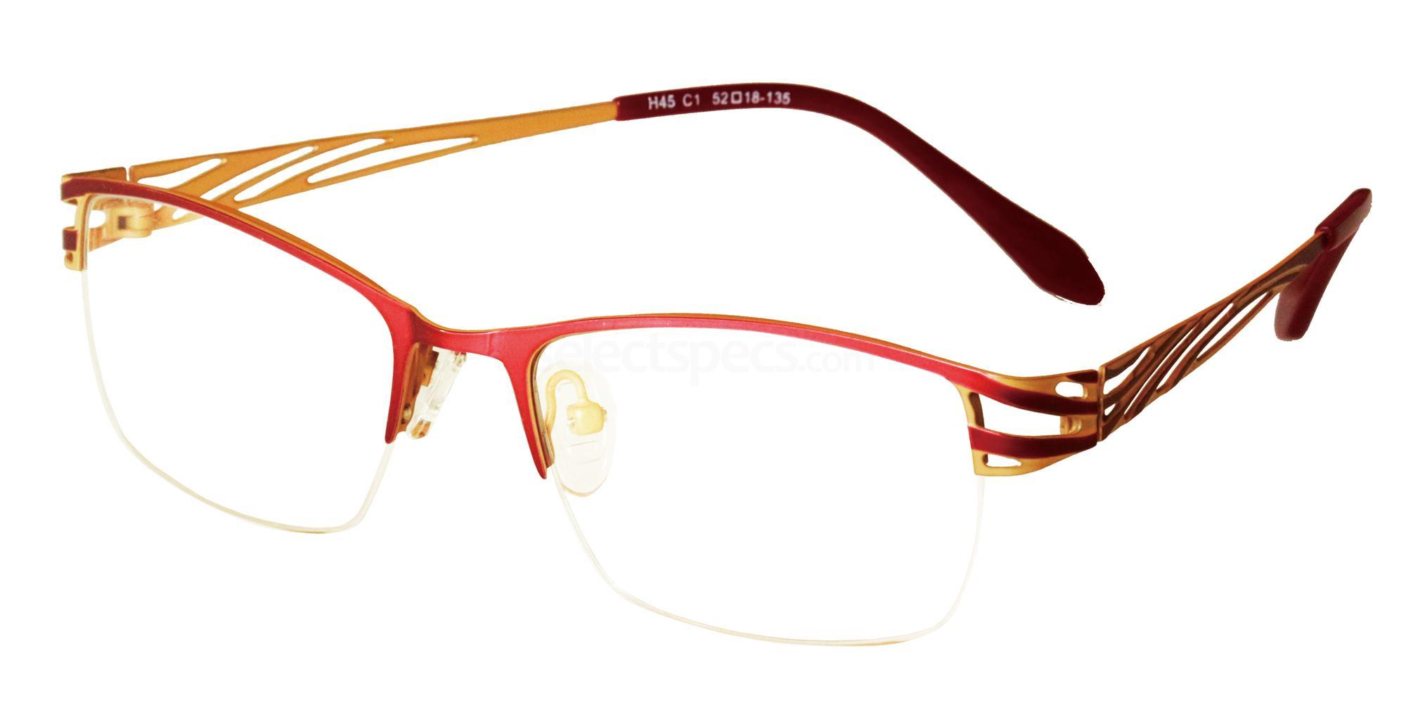 C1 H45 Glasses, Halstrom