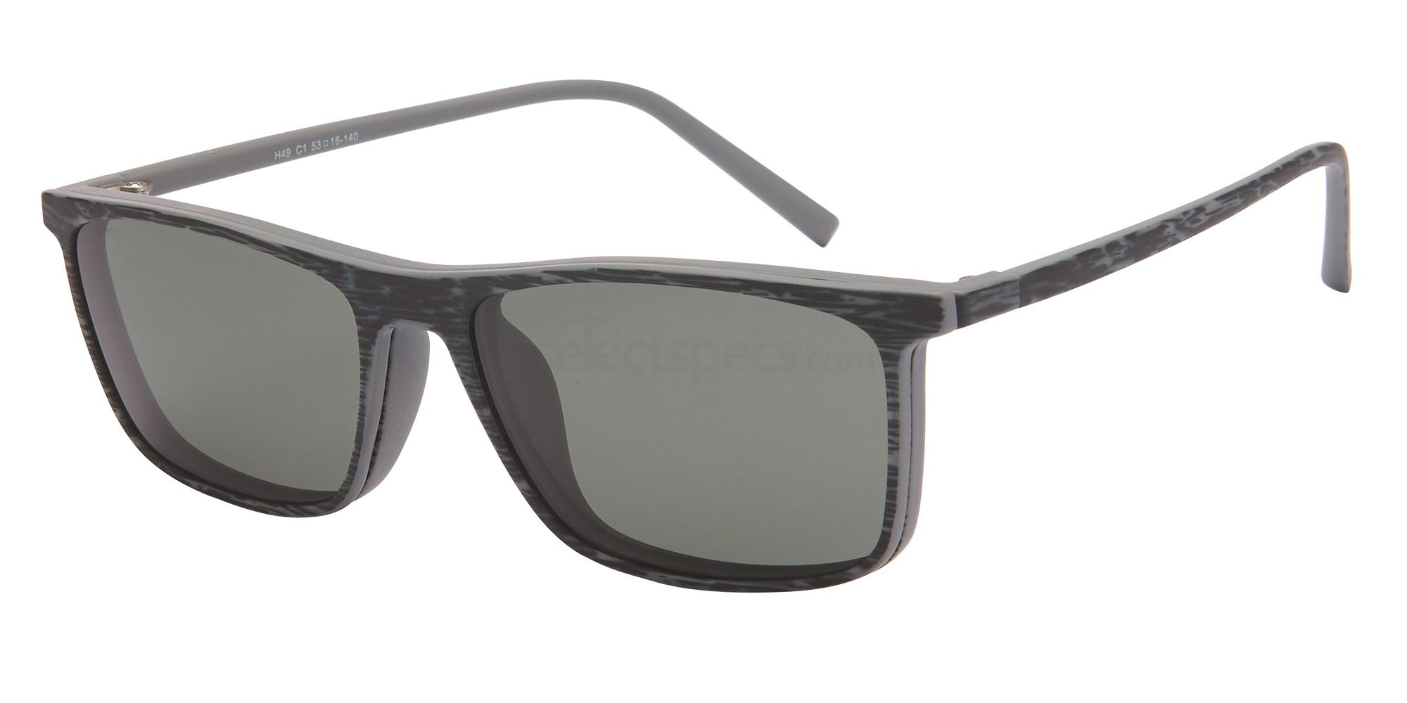 C1 H49 - With Clip on Glasses, Halstrom