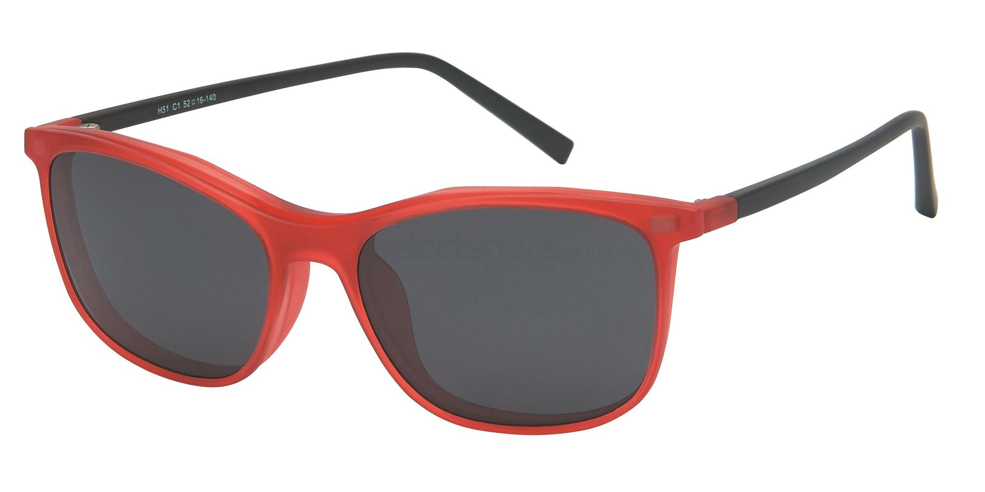 C1 H51 - With Clip on Glasses, Halstrom