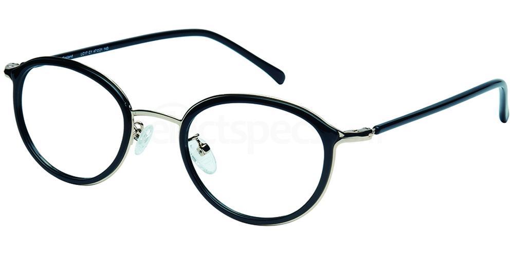C1 LC17 Glasses, London Club