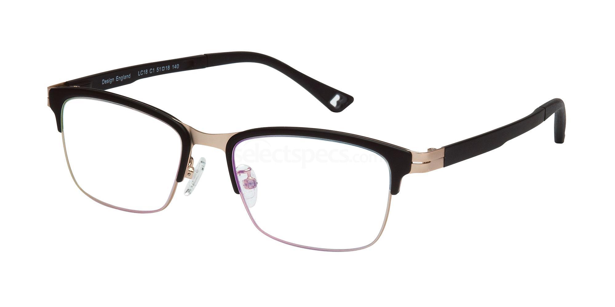 C1 LC18 Glasses, London Club