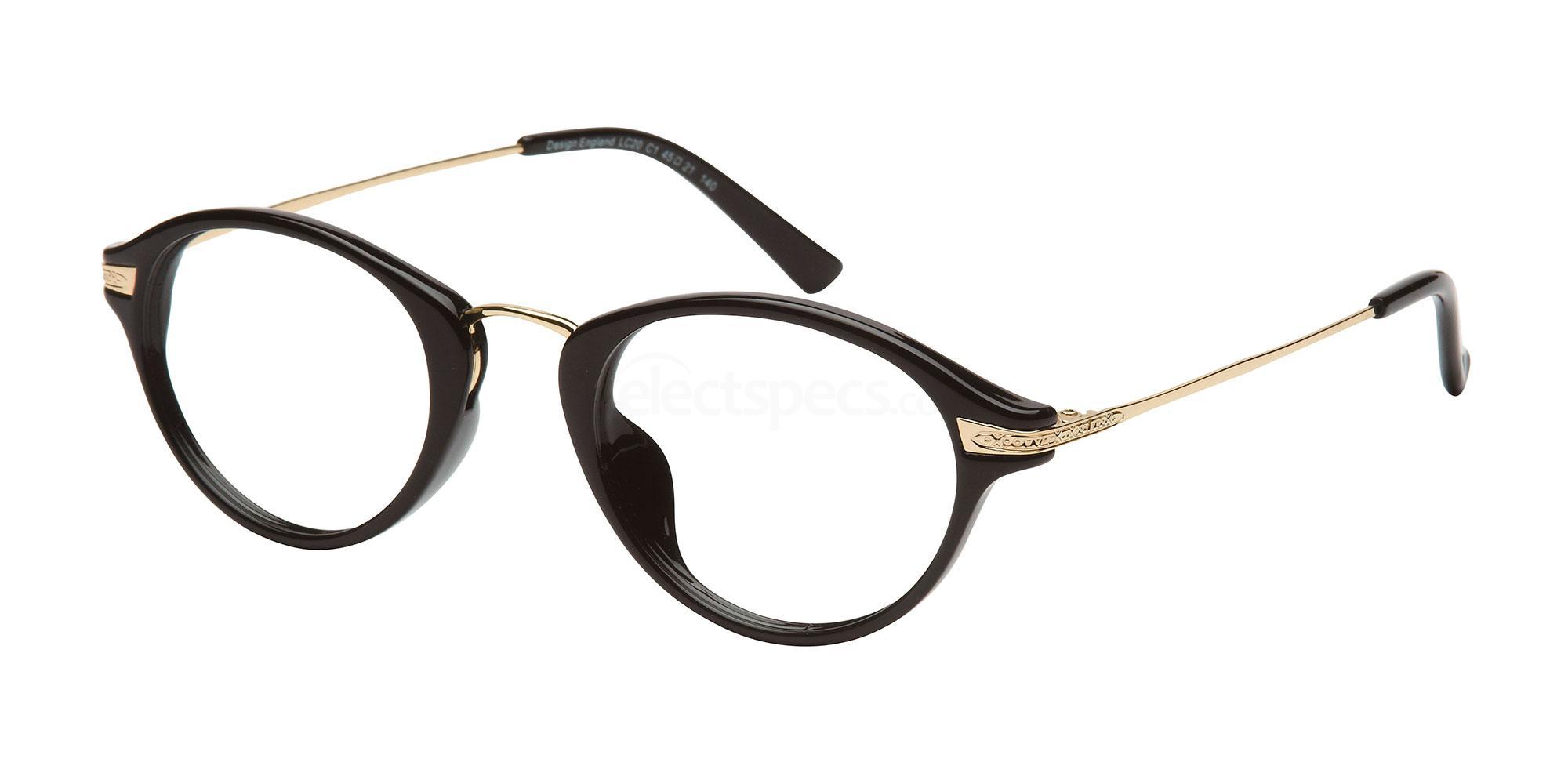 C1 LC20 Glasses, London Club