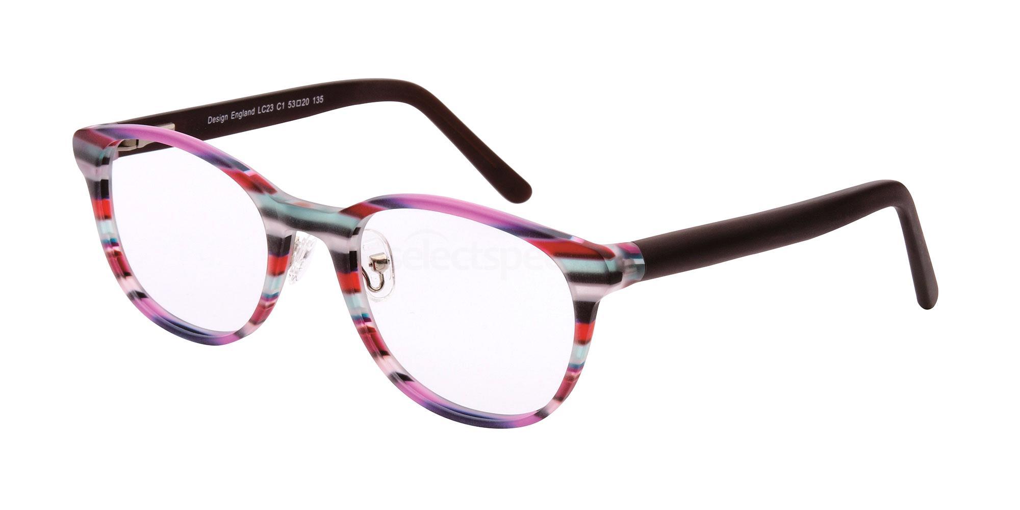 C1 LC23 Glasses, London Club