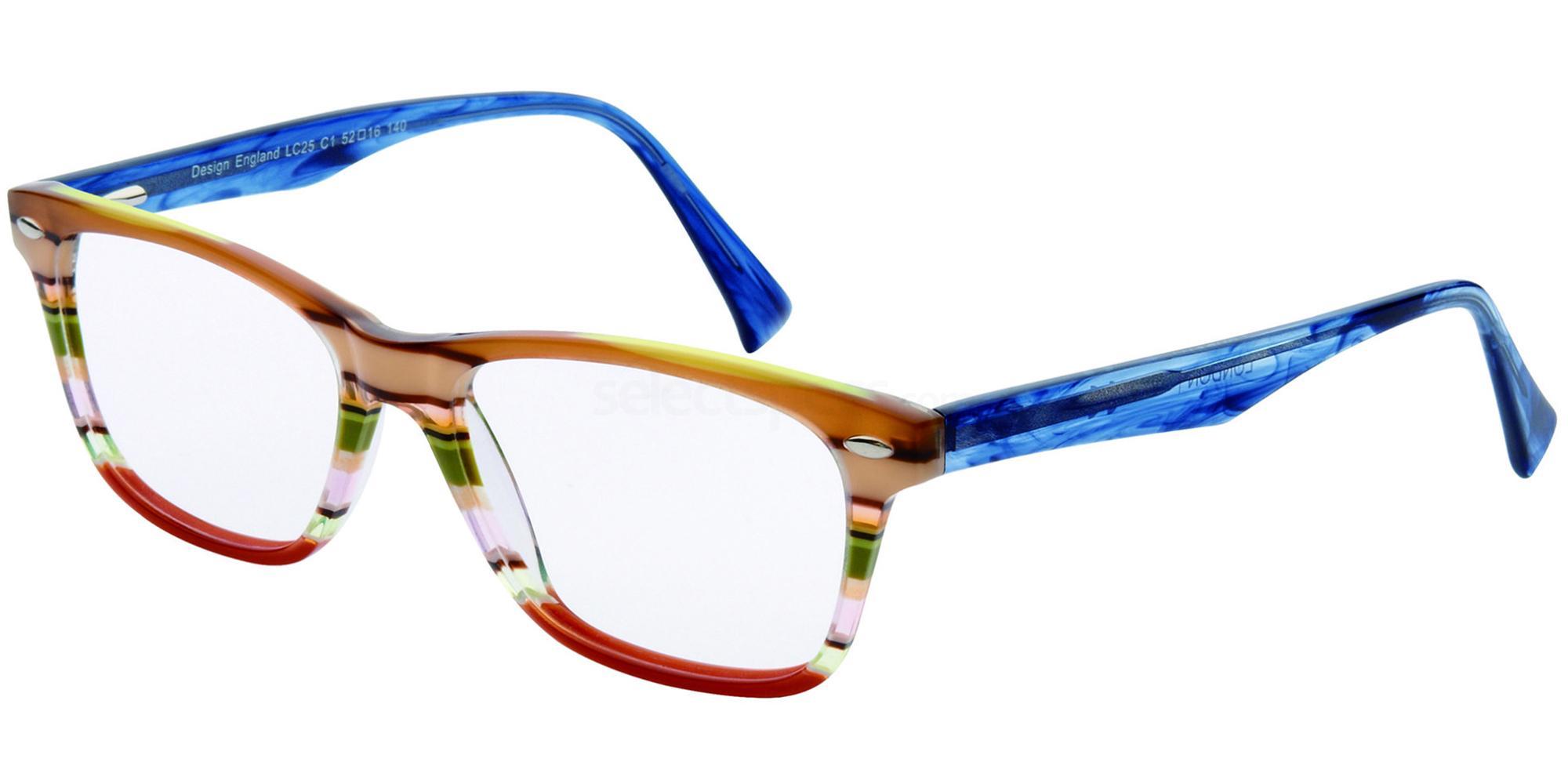 C1 LC25 Glasses, London Club