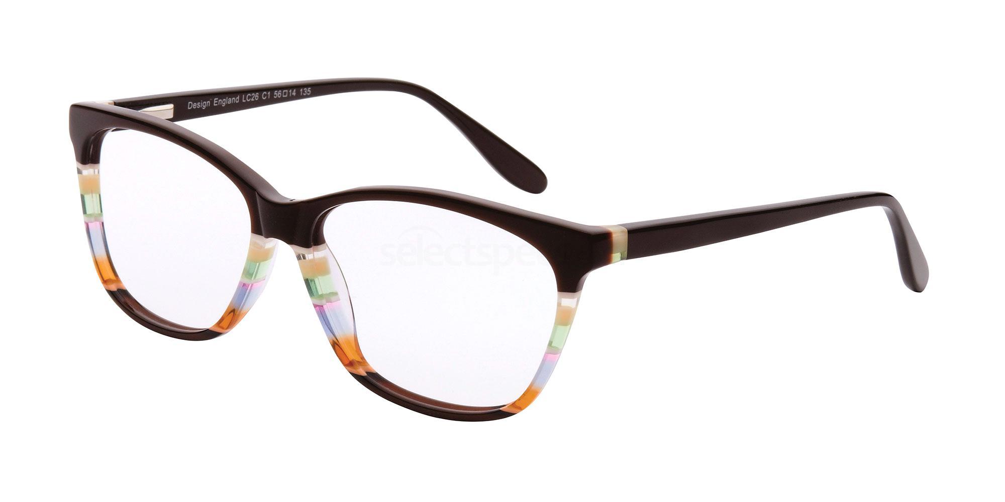 C1 LC26 Glasses, London Club