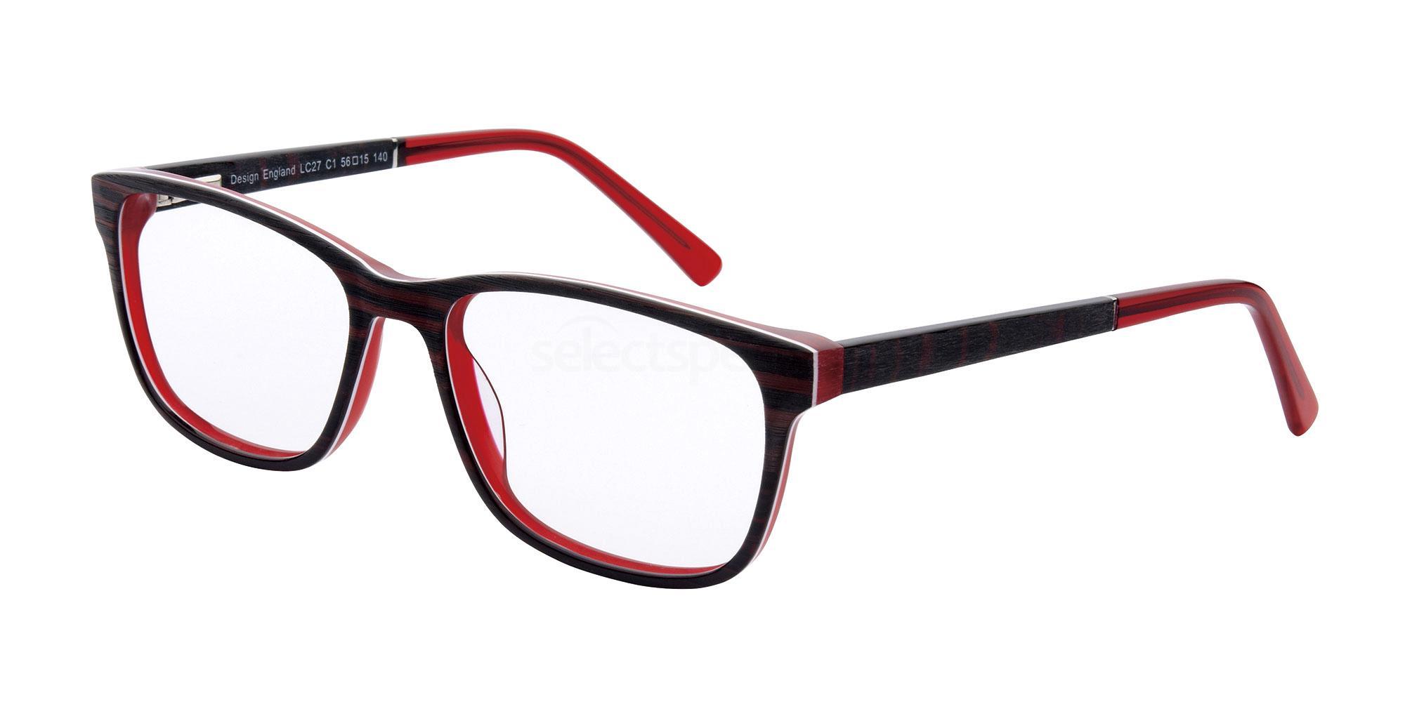 C1 LC27 Glasses, London Club