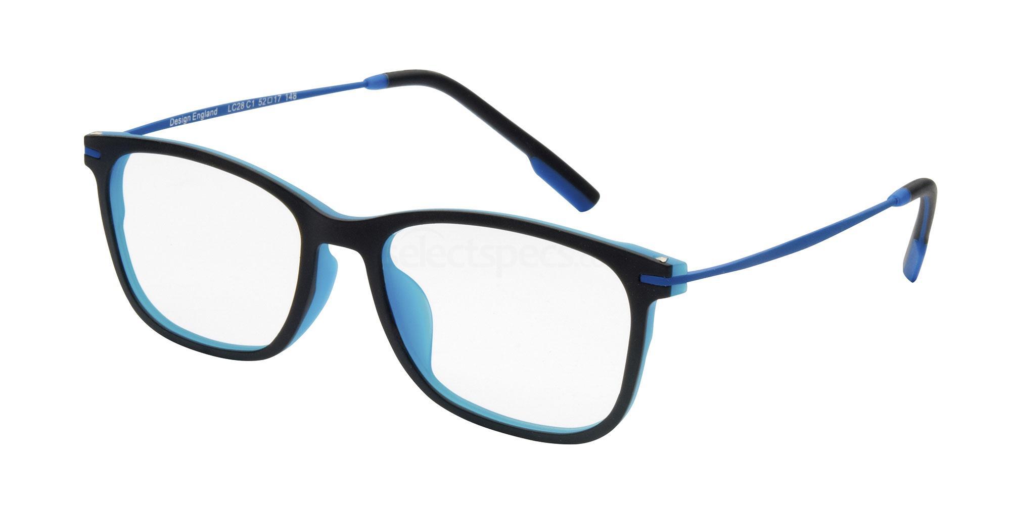 C1 LC28 Glasses, London Club