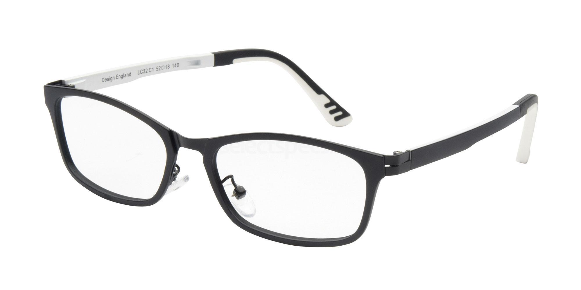 C1 LC32 Glasses, London Club